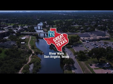 Great Places in Texas: San Angelo River Walk
