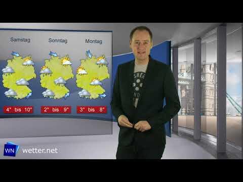 Wetterprognose: Ab Sonntag kann es zu Schneefällen kommen