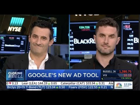 "Matt Britton on CNBC ""Closing Bell' discussing Google's Attribution Strategy 5/24/17"