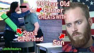 70 Year Old Father Cheats with Son's Girlfriend! Crazy Ending! | To Catch a Cheater