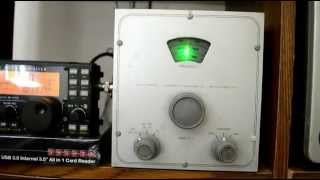 Heathkit VFO VF-1 demonstration