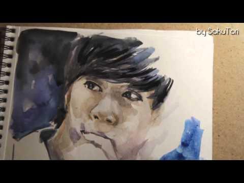 [Speed Painting] kpop fanart CheonDung (MBLAQ) by SakuTori