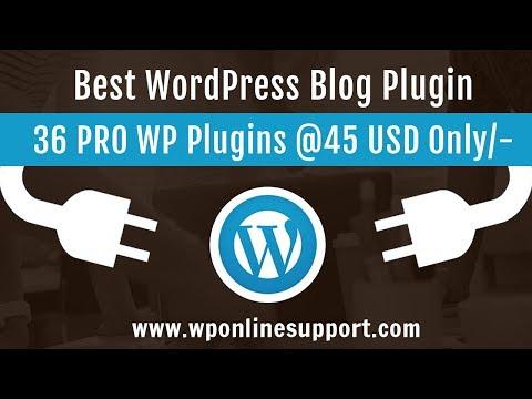 WP Blog and Widget - WordPress Blog Widget Plugin