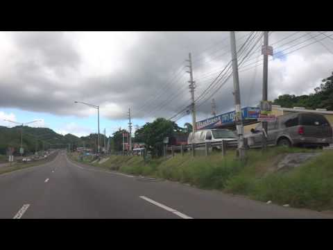 Entering Añasco, Puerto Rico