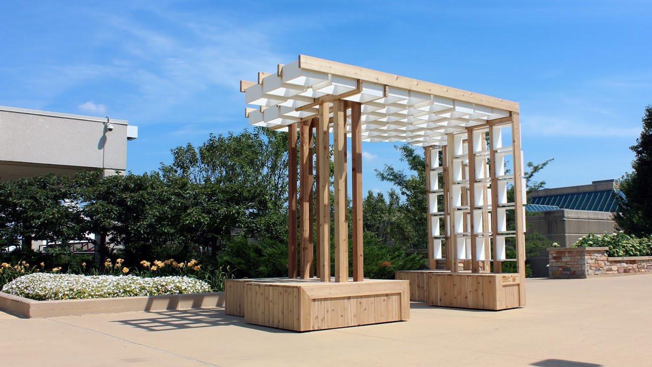 Captivating Architecture Design Build Pavilion (2016)