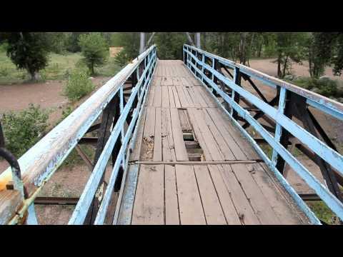 U News. Вантовый пешеходный мост через р. Белая нуждается в ремонте.