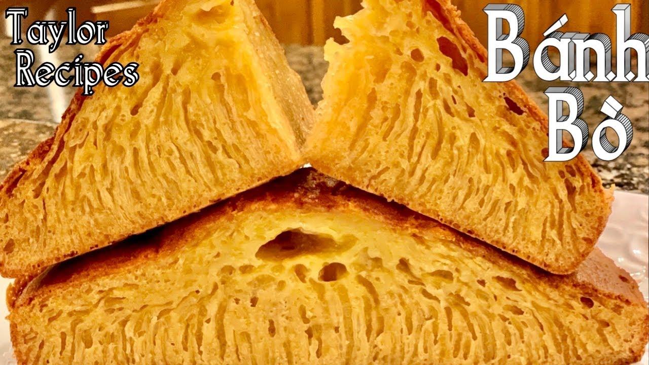 Vài Bí Quyết Làm Bánh Bò Nướng Đường Thốt Nốt Ngon Mềm Dẻo Rất Đẹp Và Nhiều Rể Tre – Honeycomb Cake