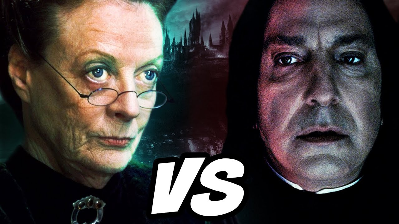 Snape VS McGonagall.. Who Is MORE Powerful? - Harry Potter Theory
