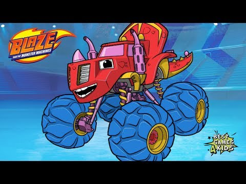 Playtime With Blaze And The Monster Machines HD #2 | Creative Coloring W/ Blaze! By Nickelodeon