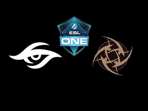 Secret vs NiP ESL One Katowice 2019 Highlights Dota 2 thumbnail