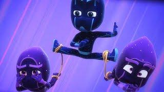 PJ Masks Deutsch Pyjamahelden ⭐ Nacht-Ninja und seine Ninjalinos ⭐ Cartoons für Kinder