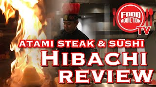 Atami Steak and Sushi Hibachi Grill Lunch Review Katy, TX