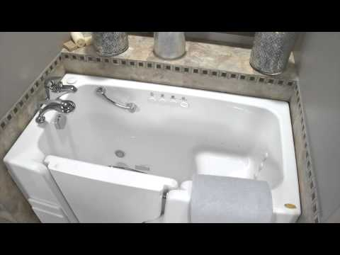 Jacuzzi® Hydrotherapy Walk-in Tubs