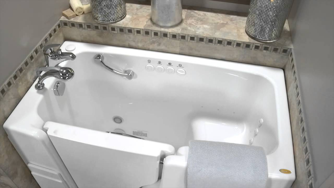 Jacuzzi® Hydrotherapy Walk-in Tubs - YouTube