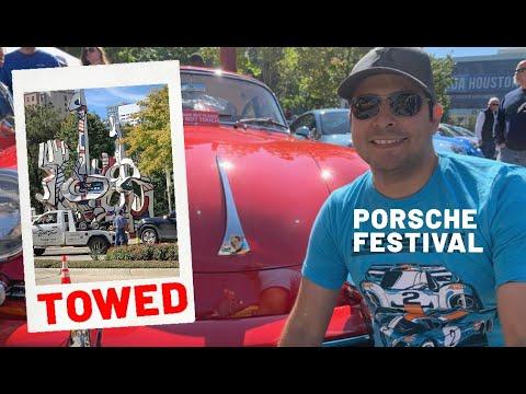 Ticketed/Towed At Porsche Festival Redux - Avenida De Las Americas - Houston, TX