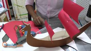 Dragon 3D Boat Model Video