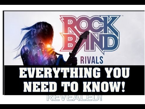 Rock Band Rivals: Everything You Need To Know! Features! Release Date! , Pre-Orders! (Rock Band 4)