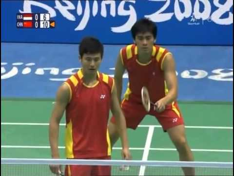 2008 Olympics MDF   Markis Kido Hendra Setiawan vs Cai Yun Fu Haifeng x264