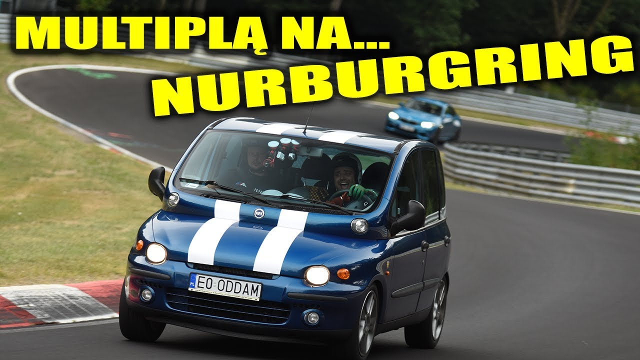 Pojechał multiplą na Nurburgring
