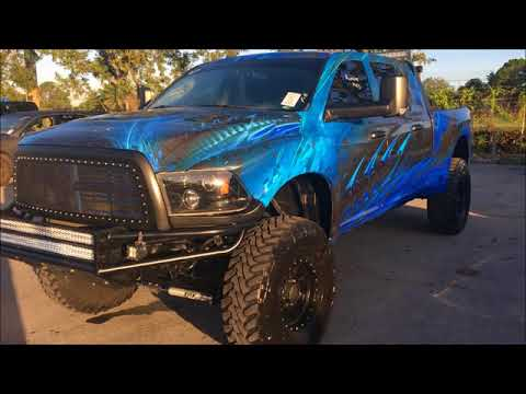 TIREGATE ON DODGE RAM: AND THE REST OF THE TRUCK ISN'T TOO SHABBY!!