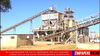 Economy comes first, says ED officially re-opening Eureka Gold Mine - 20 June 2018