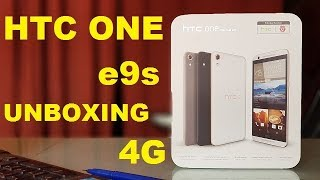 hTC one e9s dual sim unboxing