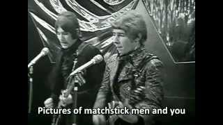 Status Quo - Pictures of Matchstick Men (1968) [High Quality Sound, Subtitled]