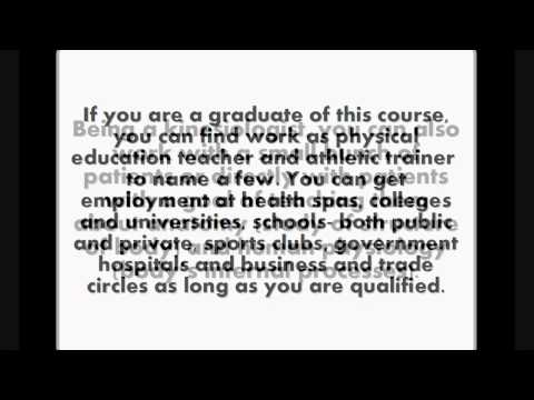 Kinesiology Careers-Degree In Kinesiology
