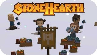Stonehearth 1.1 Gameplay | Northern Alliance | Part 1
