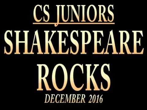 Shakespeare Rocks 2016 - Centre Stage Junior Production