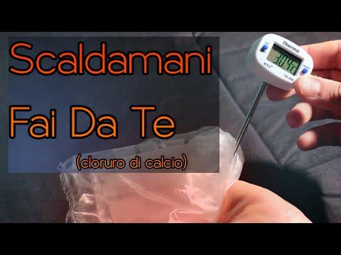Scaldamani fai da te cloruro di calcio acqua maker for Fai da te youtube