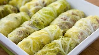 Beef And Cabbage Roll - Healthy Food - Diabetic Food - How To
