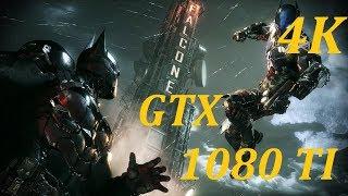 BATMAN ARKHAM KNIGHT 4K GTX 1080 TI STRIX 7700K 5.1GHZ (random gameplay)