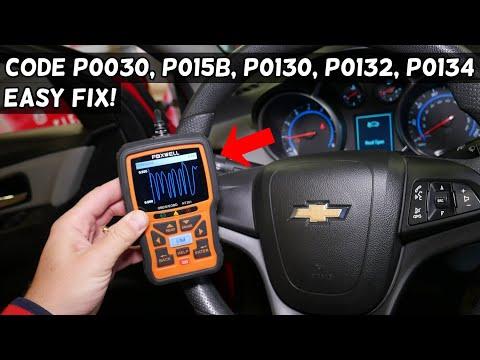 FIX CODE P0030 P015B P0130 P0132 P0134 ENGINE LIGHT ON CHEVY, CHEVROLET, GMC, BUICK, CADILLAC