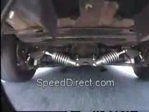 Corvette Coil-Over Suspension