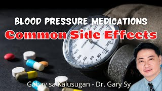 Blood Pressure Drugs: Common Side Effects - Dr. Gary Sy