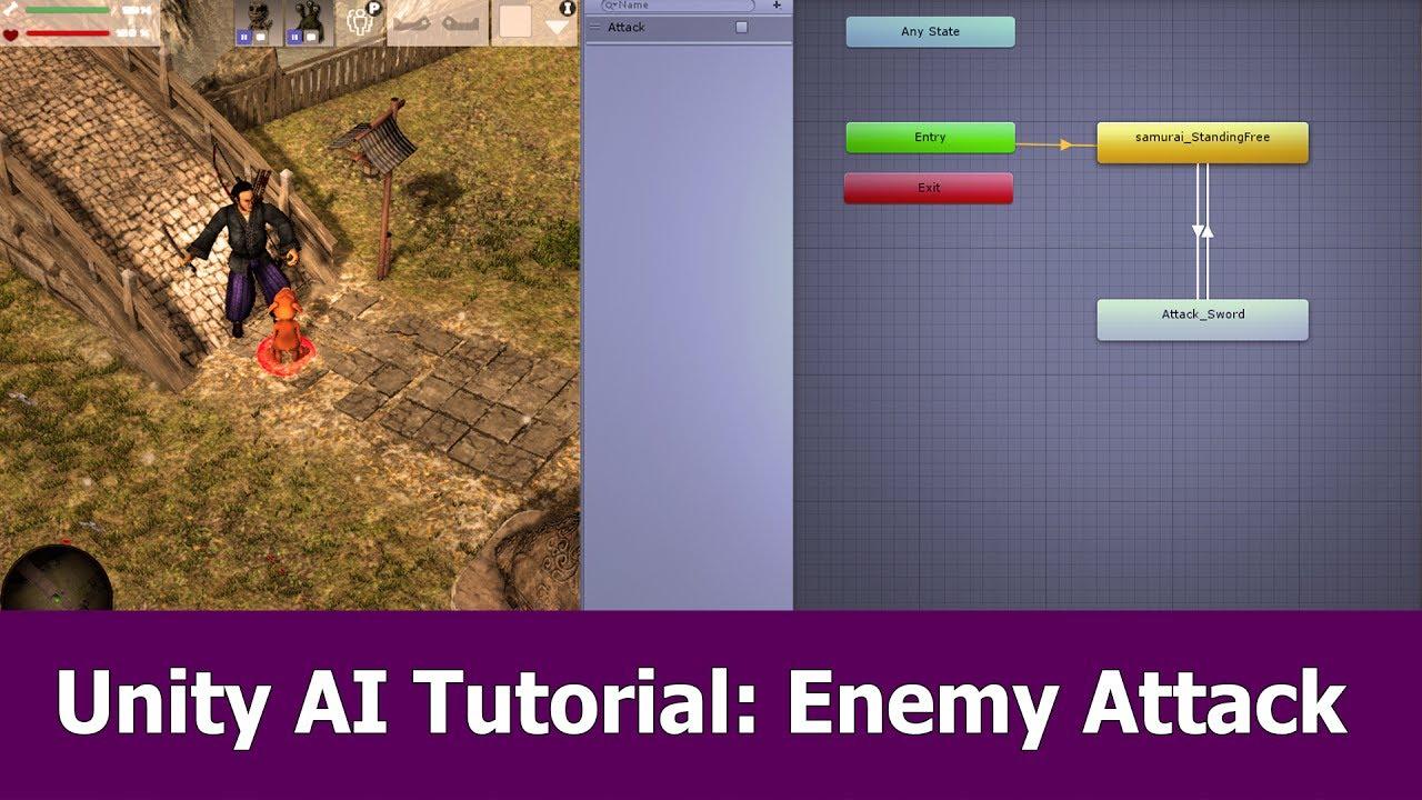 Unity AI Tutorial : Enemy Attack