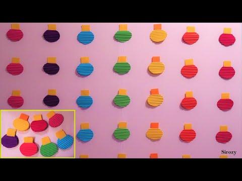 Christmas Backdrop Rainbow Balls | Christmas Decorations Ideas | Christmas 2019