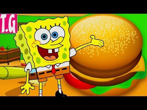 Spongebob Patty Dash:Spongebob Cooking— GAMES FOR KIDS.  HD 1080p