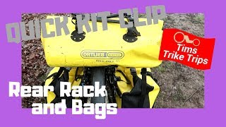 Sub Questions | Rear cycle rack and pannier bags.