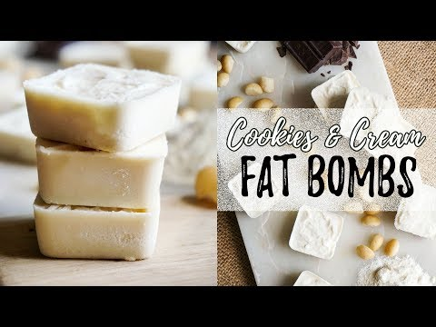 2 Ingredient Fat Bomb Recipe | 0g Carbs | Keto Dessert