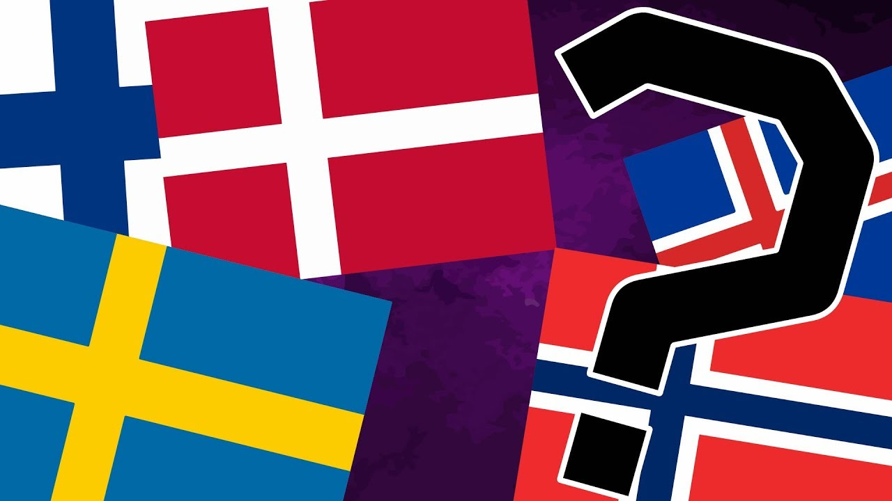 Why Are The Nordic Flags So Similar? - YouTube