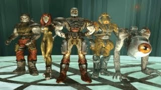 Quake 3 Arena Walkthrough Part 1 Let
