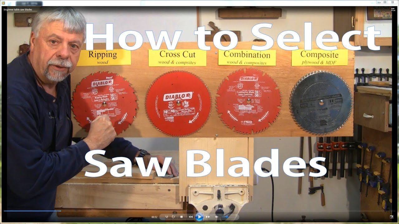 How to select table saw blades woodworking for beginners 2 how to select table saw blades woodworking for beginners 2 woodworkweb youtube keyboard keysfo Choice Image