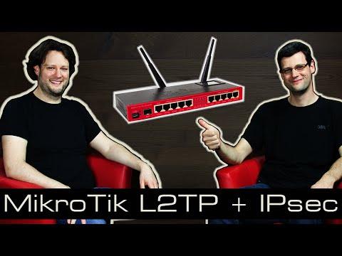 MikroTik Tutorial 21 L2TP + IPsec [deutsch]