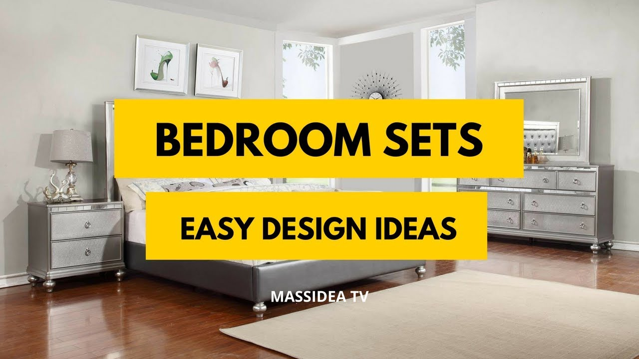 35 Easy Bedroom Sets Design Ideas Can Make At Home Youtube