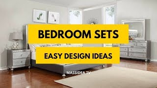 35+ Easy Bedroom Sets Design Ideas Can Make at Home