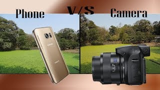 Galaxy S7 vs hx400v | Camera vs Phone shootout (Auto Mode)