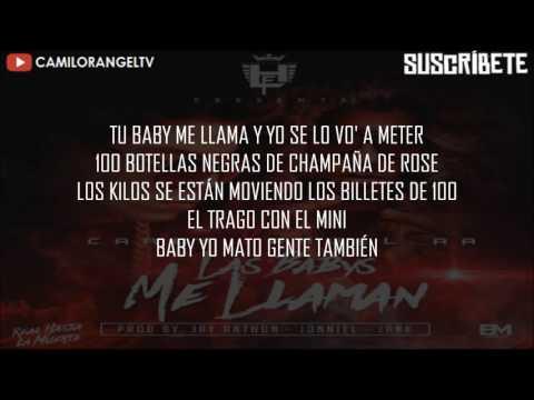 LAS BABYS ME LLAMAN (LETRA) - CARLY FY ANUEL AA