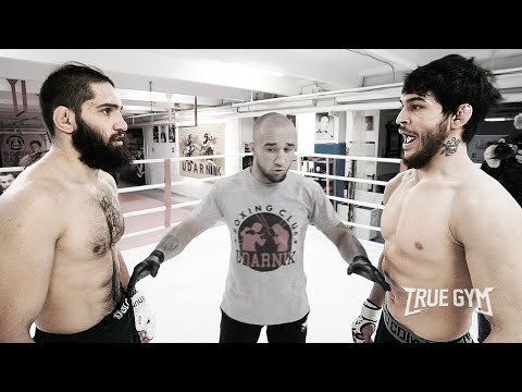 Дерзкий Чоршанбе против Бойца из Морга КРУТОЙ БОЙ / True Gym Fights